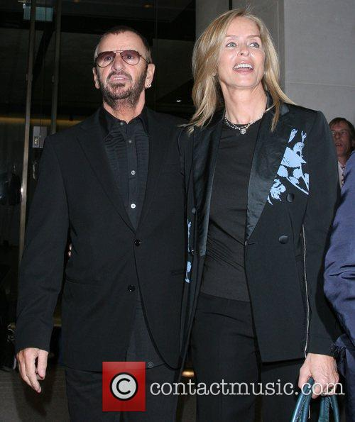 Ringo Starr and Barbara Bach attend the Linda...
