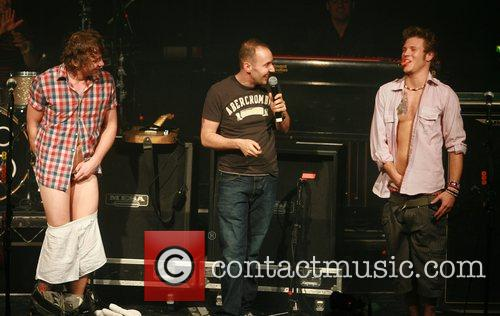 McFly, Danny Jones and Dougie Poynter 3
