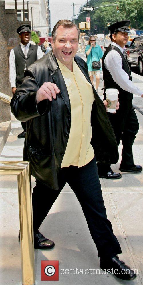 Michael Lee Aday aka Meatloaf leaving his Manhattan...