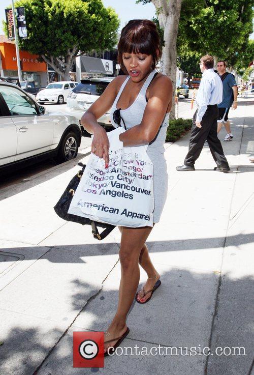 Meagan Good 'Stomp the Yard' star walking along...