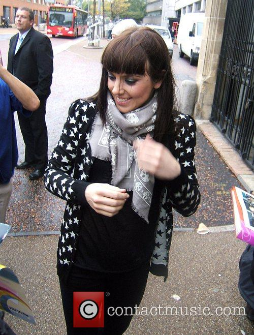 Melanie Chisholm leaving the ITV studios after appearing...