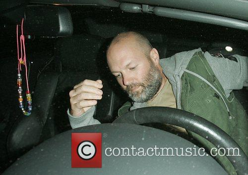 Fred Durst leaving Mr Chow Restaurant  Beverly...