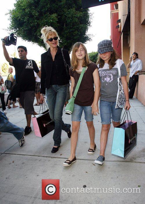 Melanie Griffith and Her Children 5