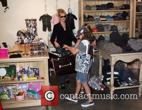 Melanie Griffith and Her Children 7