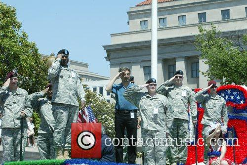 Joe Mantegna Annual Memorial Day Parade on Constitution...