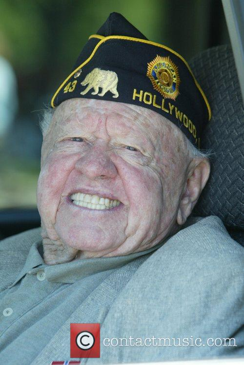Mickey Rooney, Memorial Day Celebration