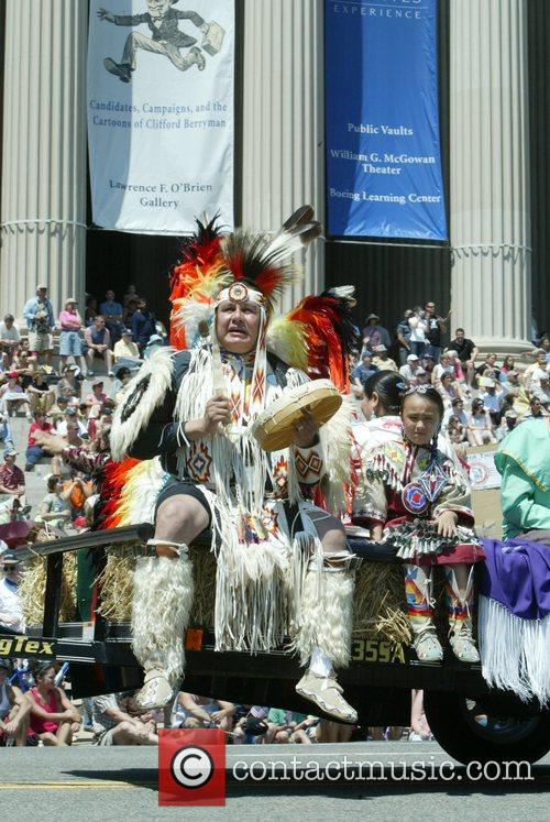 Native American Indian Annual Memorial Day Parade on...