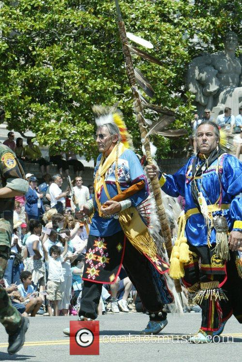 Native American Indians Annual Memorial Day Parade on...