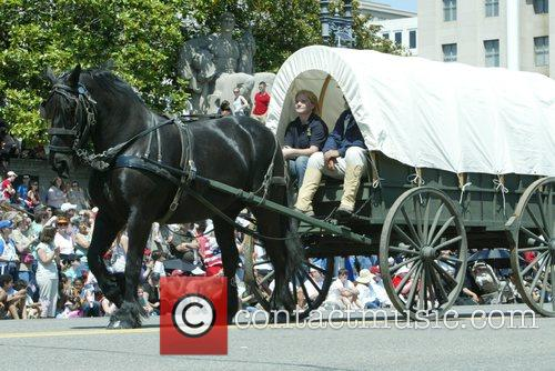 Annual Memorial Day Parade on Constitution Avenue