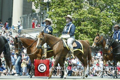 Teddy Roosevelt rRoughriders Annual Memorial Day Parade on...