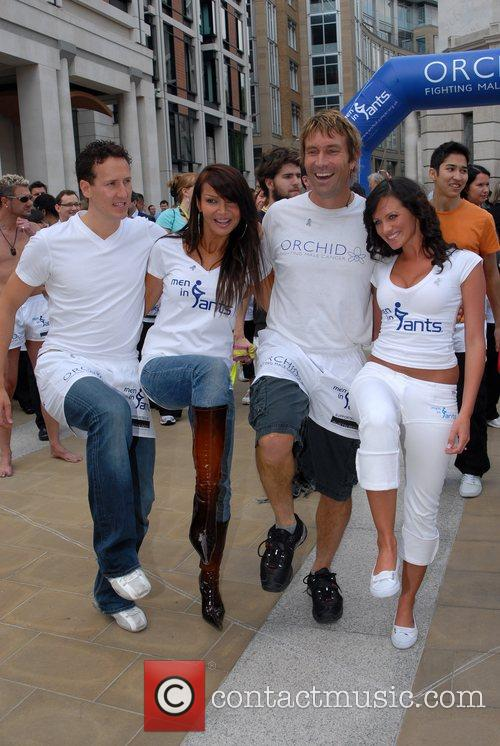 Brendan Cole, Liz Cundy, Pat Cash and Melanie Boorman 2