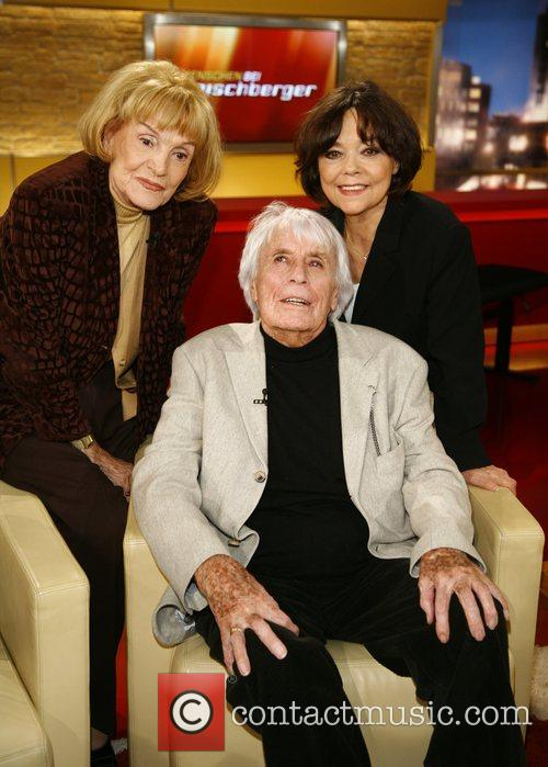 Gisela May, Johannes Heesters and wife Simone Rethel-Heesters...