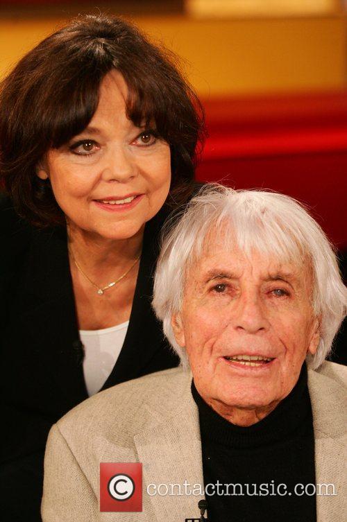 Johannes Heesters, wife Simone Rethel-Heesters on German talkshow...