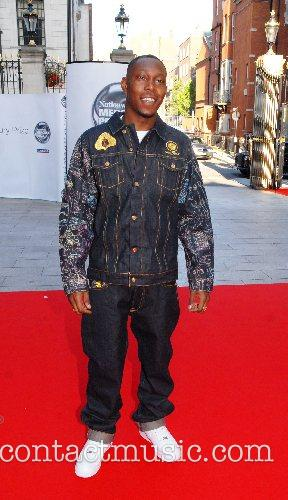 Dizzee Rascal Nationwide Mercury Prize 2007 held at...