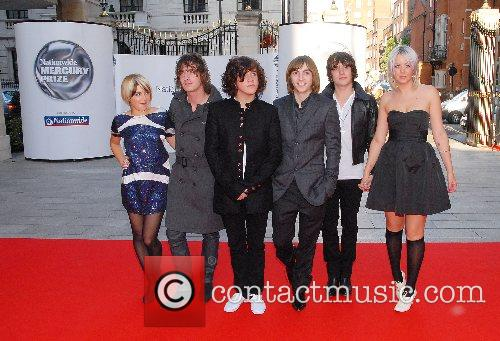 Guests Nationwide Mercury Prize 2007 held at the...