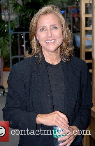 Meredith Vieira leaving NBC studios after taping of...