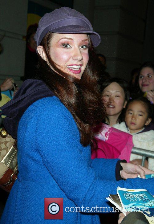 Sierra Boggess 'The Little Mermaid' theatre play at...