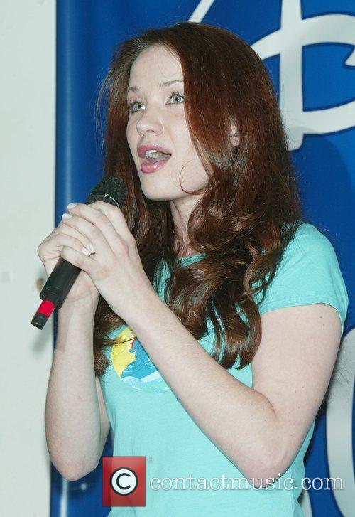 Sierra Boggess Broadway's 'The Little Mermaid' CD signing...