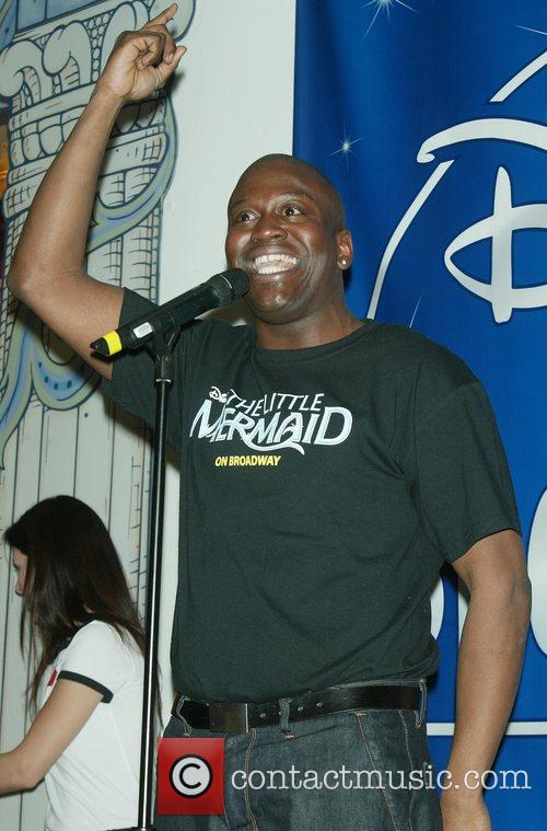 Tituss Burgess Broadway's 'The Little Mermaid' CD signing...