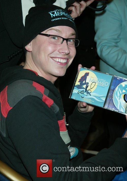 Tyler Maynard Broadway's 'The Little Mermaid' CD signing...