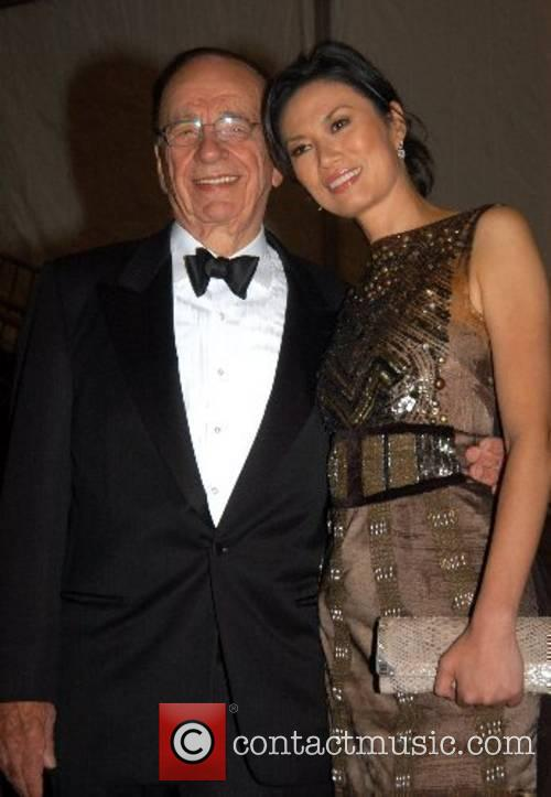 Rupert Murdoch and Guest 'Poiret: King of Fashion'...