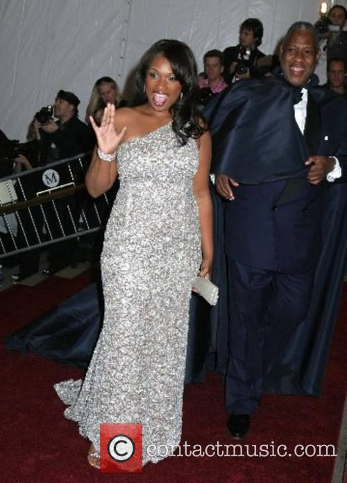 Jennifer Hudson and Andre Leon Talley 'Poiret: King...