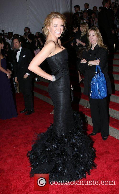 Blake Lively 'Superheroes: Fashion and Fantasy' Costume Institute...