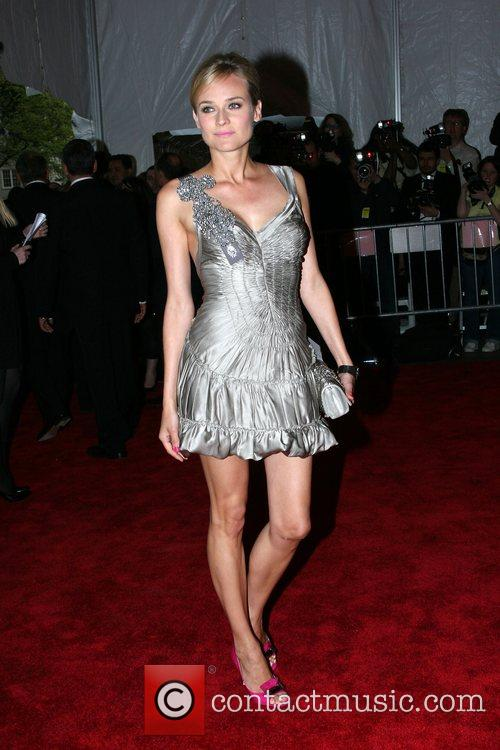 Diane Kruger 'Superheroes: Fashion and Fantasy' Costume Institute...