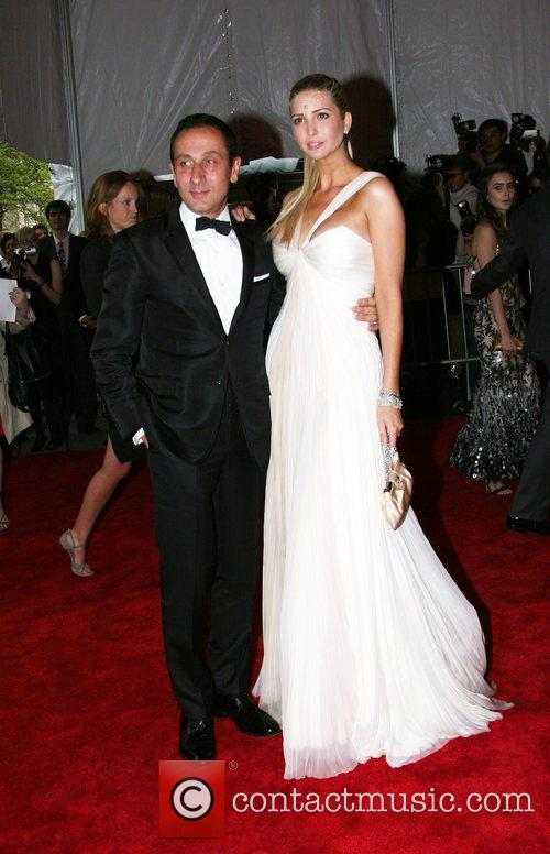 Gilles Mendel and Ivanka Trump 'Superheroes: Fashion and...