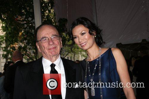 Rupert Murdoch and Wendi Deng 1