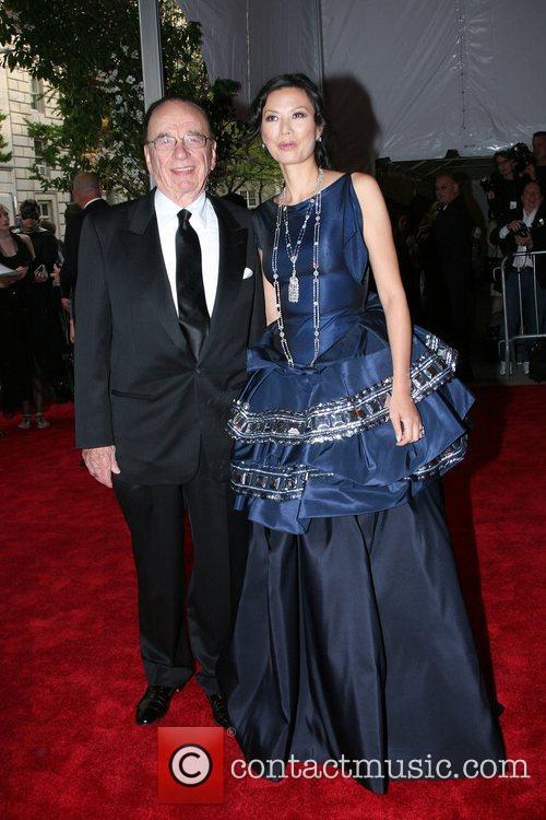 Rupert Murdoch and Wendi Deng 2