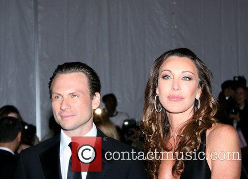 Christian Slater and Tamara Mellon 'Superheroes: Fashion and...