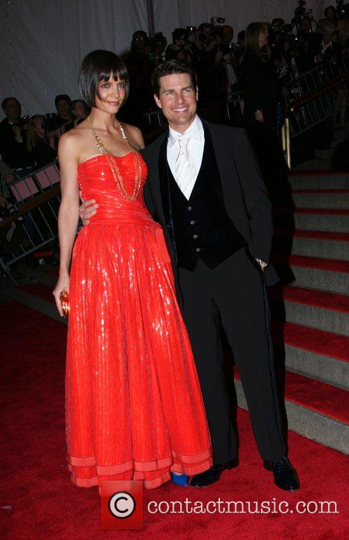 Katie Holmes and Tom Cruise 1