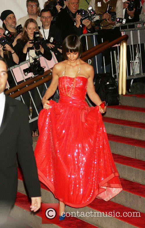 Katie Holmes 'Superheroes: Fashion and Fantasy' Costume Institute...