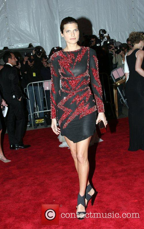 Lake Bell 'Superheroes: Fashion and Fantasy' Costume Institute...