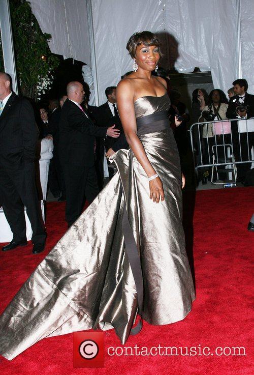 Venus Williams 'Superheroes: Fashion and Fantasy' Costume Institute...