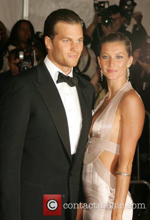 Gisele Bundchen and Tom Brady 'Superheroes: Fashion and...