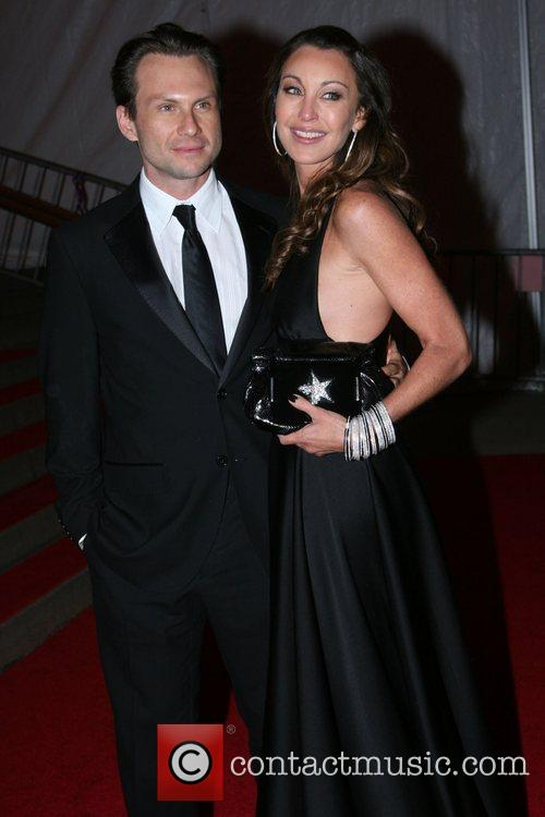 Christian Slater and Tamara Mellon 2