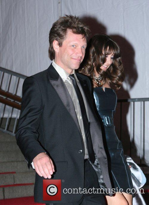Jon Bon Jovi and Dorothea Hurley 'Superheroes: Fashion...