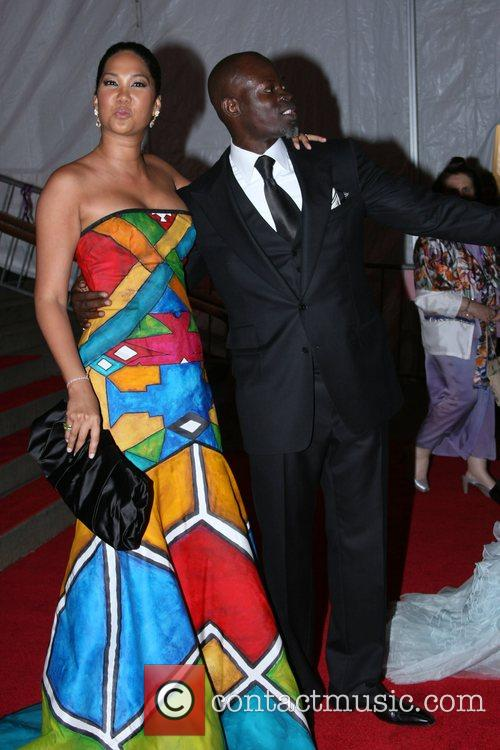 Kimora Lee Simmons and Djimon Hounsou 10