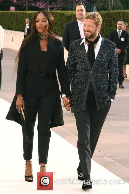 Naomi Campbell and guest The Metropolitan Opera Opening...