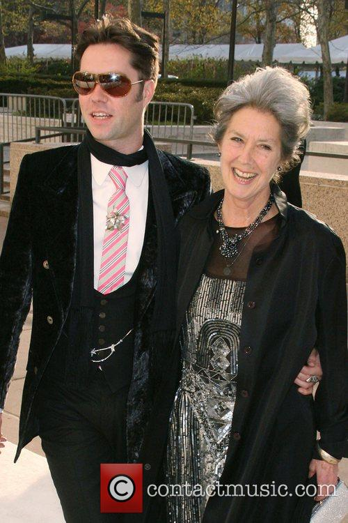 Rufus Wainwright and mother The Metropolitan Opera Opening...