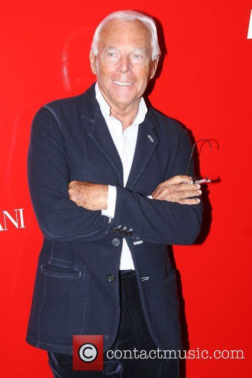 Giorgio Armani Metropolitan Museum's Costume Institute Gala -...