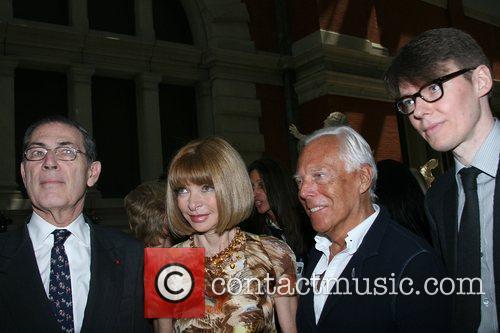 Philippe de Montebello, Anna Wintour, Giorgio Armani, Andrew...