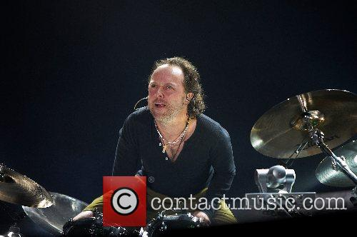 Metallica performing live at the SuperBock SuperRock 2007...
