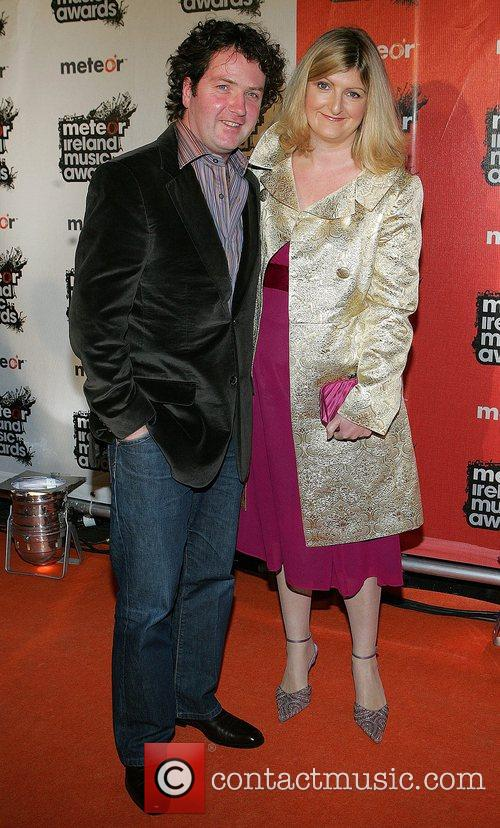 Diarmuid Gavin and wife 2008 Meteor Music Awards...