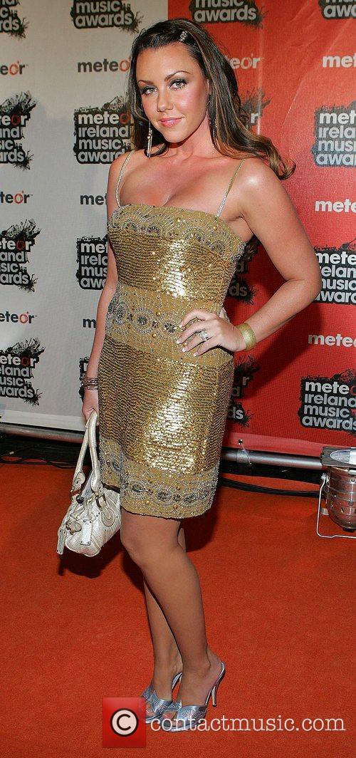 Michelle Heaton 2008 Meteor Music Awards - Arrivals...