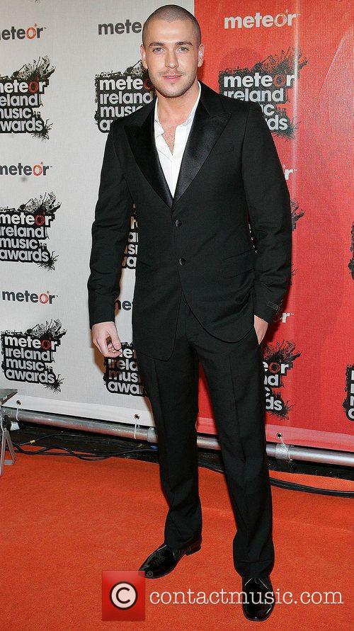 Shayne Ward 2008 Meteor Music Awards - Arrivals...