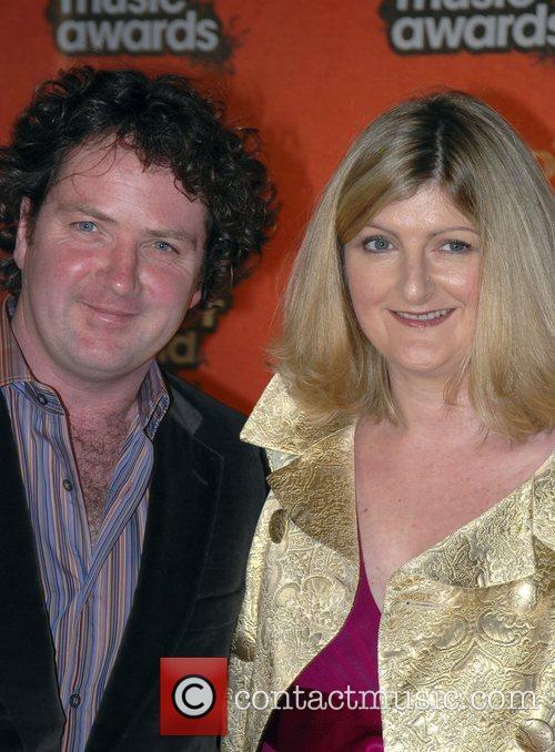 Diarmuid Gavin and wife Meteor Irish Music Awards...
