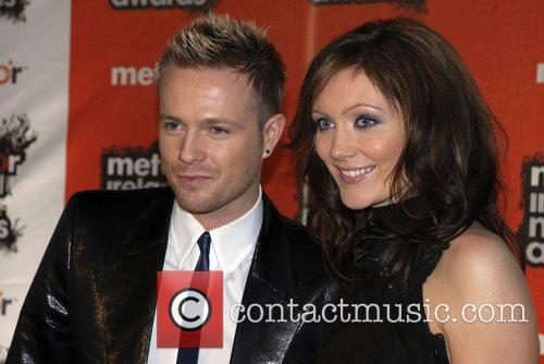 Nicky Byrne and Georgina Ahern Meteor Irish Music...